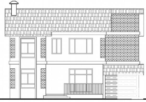 二层别墅建筑施工图 - 3