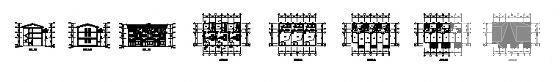 联排别墅建筑方案 - 3