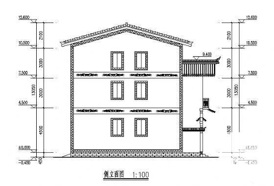 联排别墅建筑方案 - 4