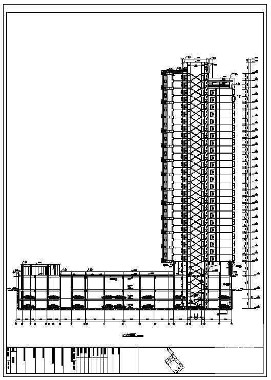 洋房建筑图纸 - 2