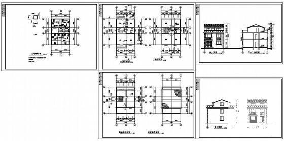 乡村别墅施工图 - 2