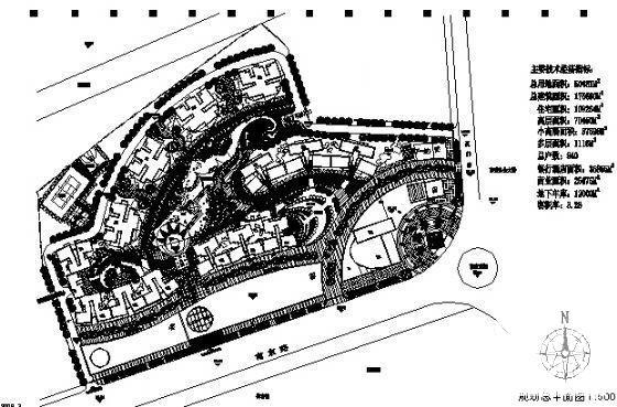 [规划平面]综合小区规划建筑设计CAD图纸