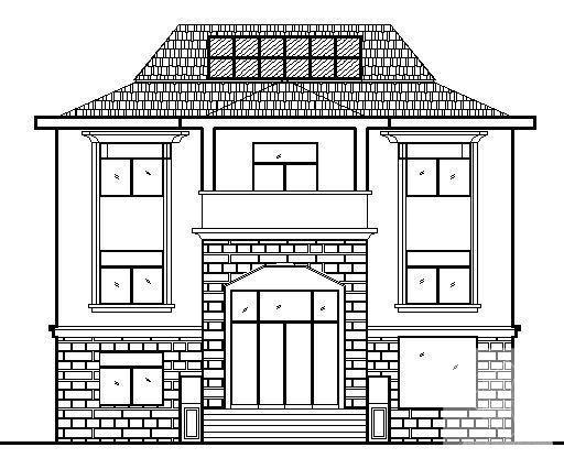 农村建筑别墅图 - 3