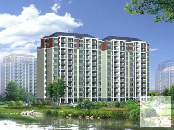 小高层住宅建筑方案 - 1