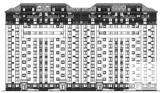 小高层住宅建筑方案 - 2