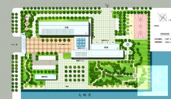 办公楼规划方案 - 4