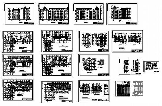 住宅楼建筑水暖 - 1