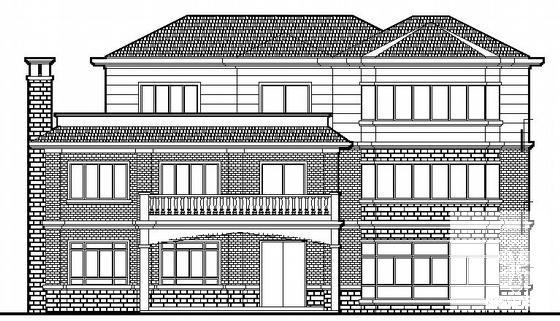 单体别墅施工图 - 2