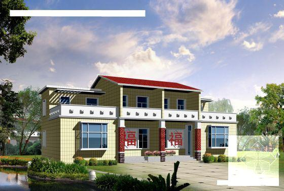 新农村住宅设计图纸 - 1