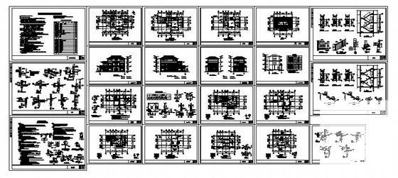 农村自建房建筑图纸 - 4