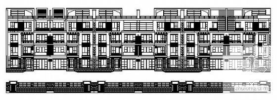 洋房建筑图纸 - 1