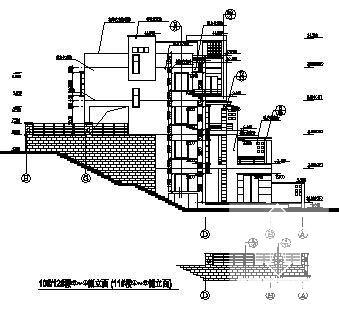 洋房建筑图纸 - 3