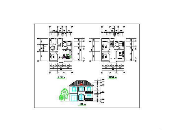 新农村住宅设计图纸 - 3