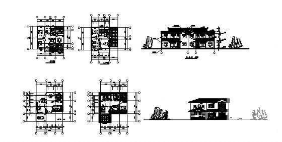 农村建筑别墅图 - 1