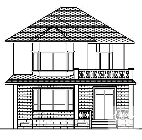 别墅建筑平面图 - 4