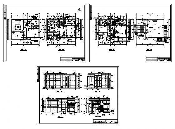 单体别墅设计图 - 2