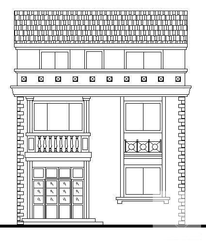 乡村别墅建筑设计 - 1
