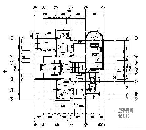 别墅地下室设计图纸 - 2