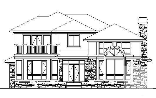 别墅平面方案设计 - 3