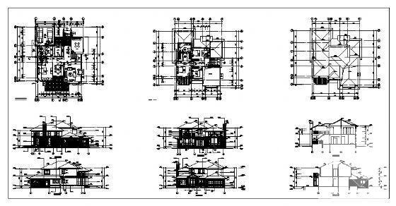 别墅平面方案设计 - 4