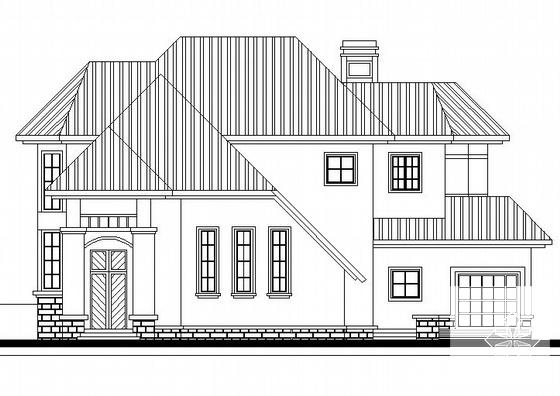 两层别墅平面图 - 2