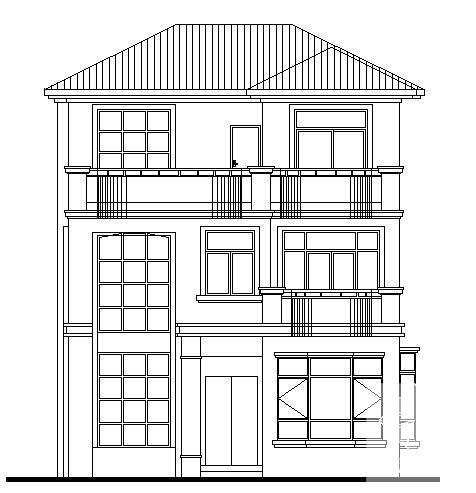 别墅设计图纸施工图 - 1
