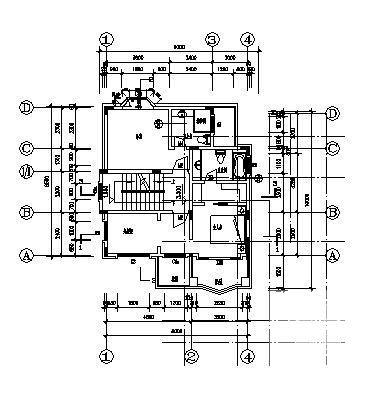 别墅设计图纸施工图 - 4