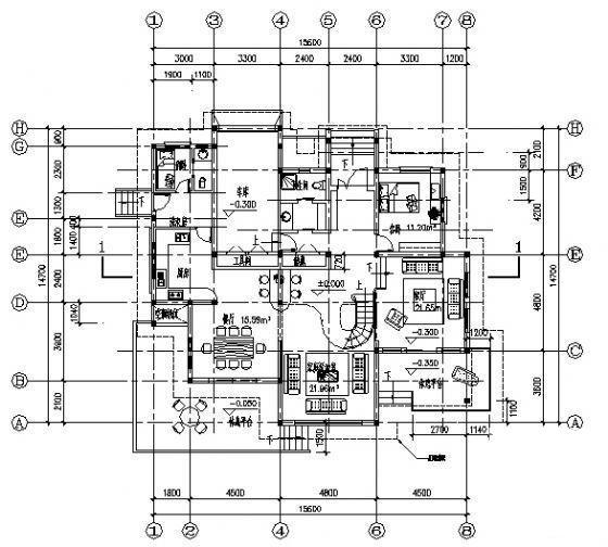 砖混结构户型 - 1