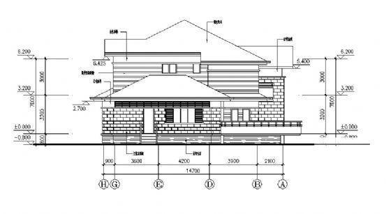 砖混结构户型 - 2