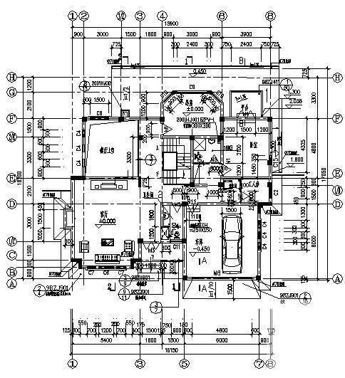 砖混结构户型 - 3