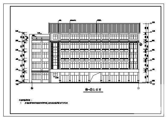建筑施工平面图图纸 - 1
