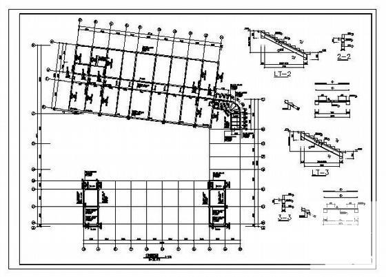 建筑施工平面图图纸 - 4