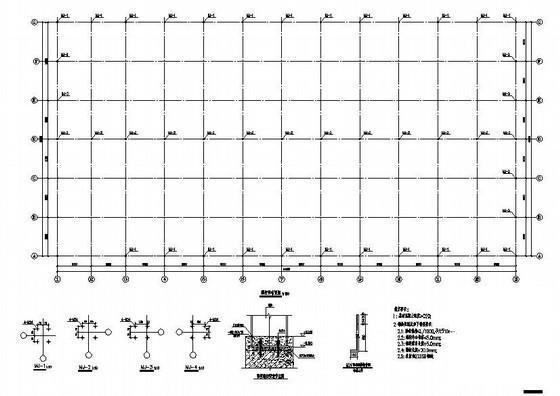 钢结构厂房建筑图纸 - 2