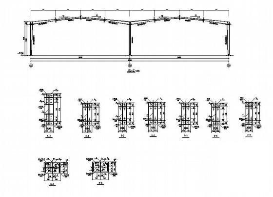 钢结构厂房建筑图纸 - 4