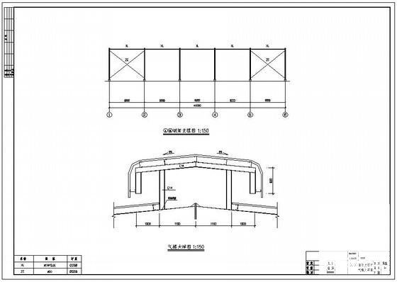 单层轻钢结构厂房图 - 2