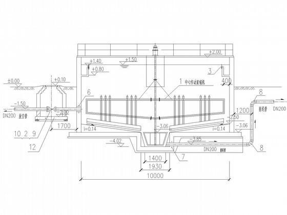 污水处理厂施工图 - 3