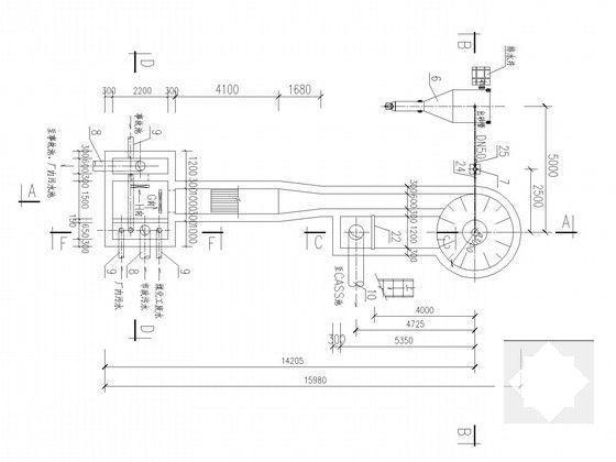 污水处理厂施工图 - 4
