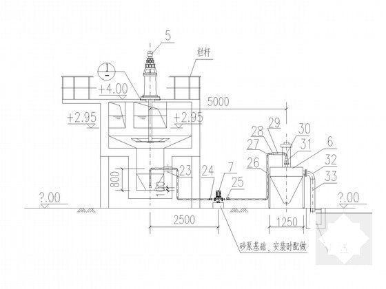 污水处理厂施工图 - 5