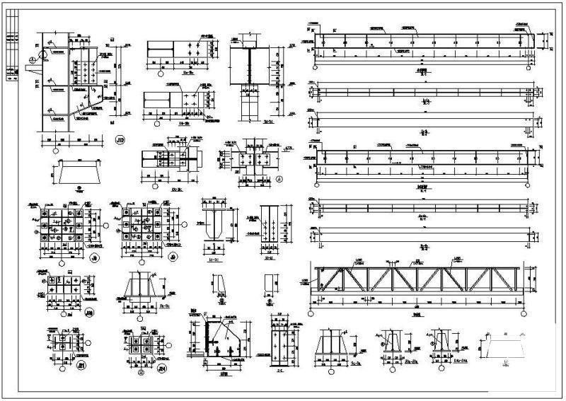 轻钢结构厂房施工图 - 2