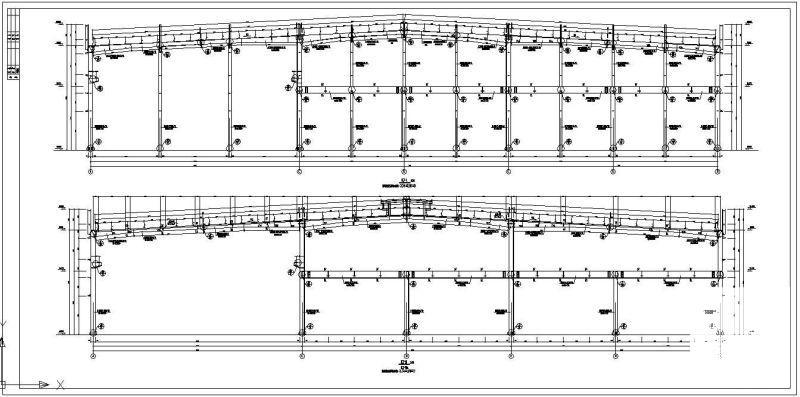轻钢结构厂房施工图 - 3