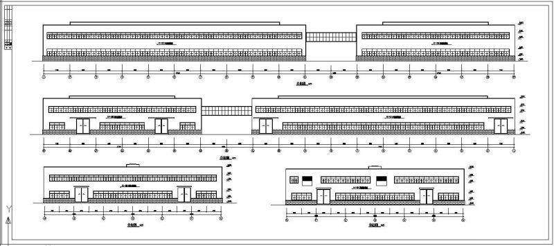 轻钢结构厂房施工图 - 4
