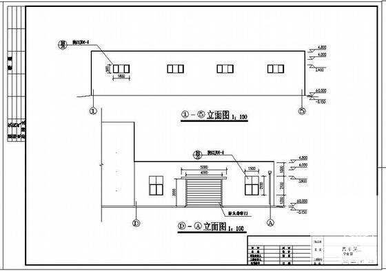 单层钢结构门式刚架 - 2