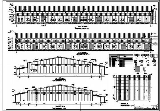 单层钢结构门式刚架 - 1