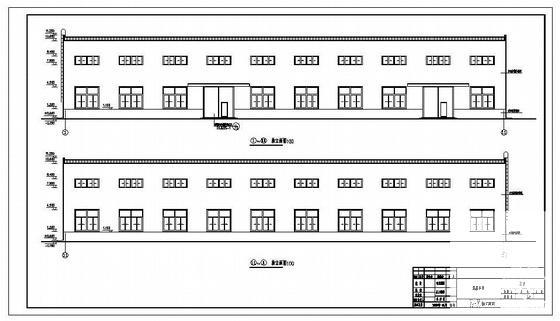 建筑门图纸 - 1