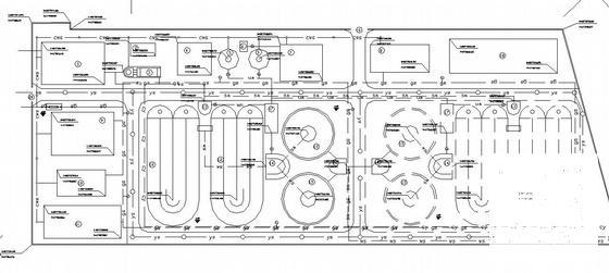 污水处理厂设计图纸 - 1