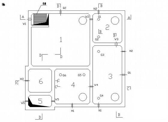 生活污水处理施工图 - 1