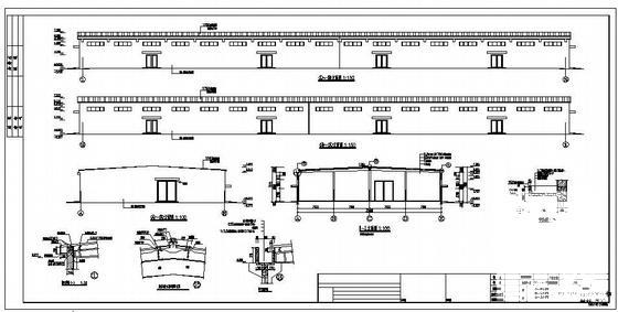 钢结构建筑施工图 - 1