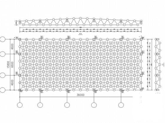 网架结构办公楼 - 1