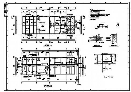 废水处理施工图 - 1