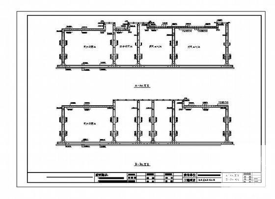 污水处理工艺图纸 - 2